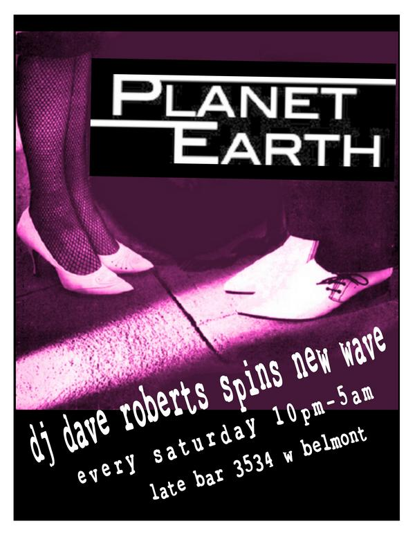 Planet Earth flyer